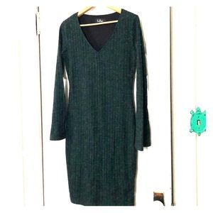 Lulus Emerald Sweater Dress